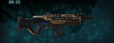 Indar plateau assault rifle gr-22