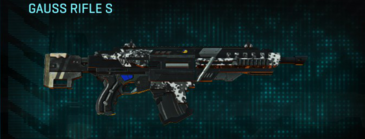 Snow aspen forest assault rifle gauss rifle s