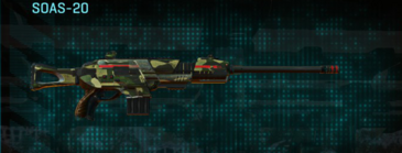 Temperate forest scout rifle soas-20