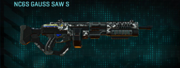 Snow aspen forest lmg nc6s gauss saw s