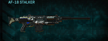 Snow aspen forest scout rifle af-18 stalker