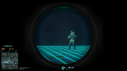 Tr weapon scope so7 7x on weapon scoped