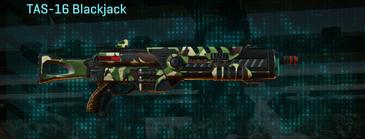 African forest shotgun tas-16 blackjack