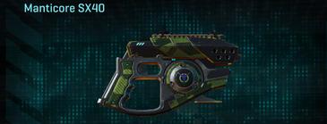 Amerish forest pistol manticore sx40
