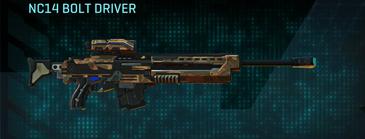 Indar plateau sniper rifle nc14 bolt driver