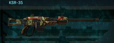 India scrub sniper rifle ksr-35