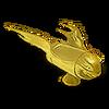 Flying Bullet Hood Ornament