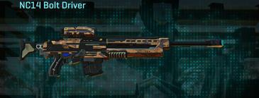 Indar canyons v1 sniper rifle nc14 bolt driver