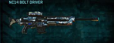 Nc urban forest sniper rifle nc14 bolt driver