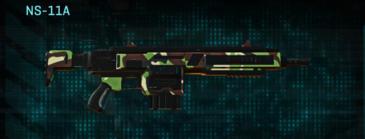 African forest assault rifle ns-11a
