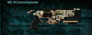 Arid forest pistol ns-44 commissioner