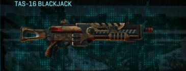 Indar rock shotgun tas-16 blackjack