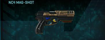 Indar plateau pistol nc4 mag-shot