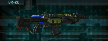 Jungle forest assault rifle gr-22