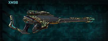 Scrub forest sniper rifle xm98