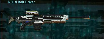 Esamir snow sniper rifle nc14 bolt driver