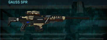 Indar scrub sniper rifle gauss spr