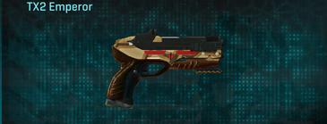 Giraffe pistol tx2 emperor