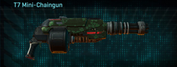 Clover heavy gun t7 mini-chaingun
