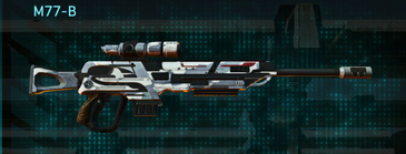 Esamir ice sniper rifle m77-b