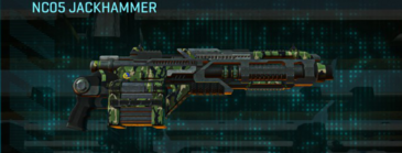 Jungle forest heavy gun nc05 jackhammer