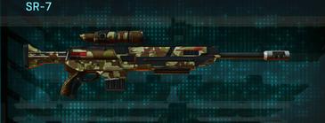 India scrub sniper rifle sr-7