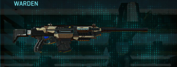 Indar scrub battle rifle warden
