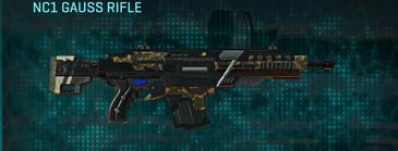 Indar highlands v1 assault rifle nc1 gauss rifle