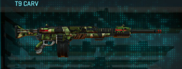 Jungle forest lmg t9 carv