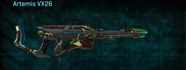 African forest scout rifle artemis vx26