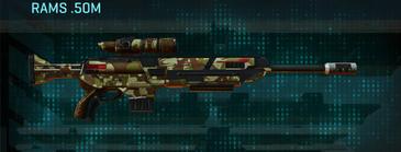 India scrub sniper rifle rams .50m