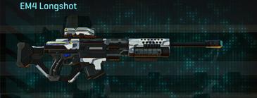 Esamir ice sniper rifle em4 longshot