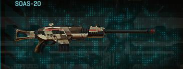 Indar scrub scout rifle soas-20