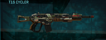 Woodland assault rifle t1s cycler