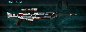 Esamir ice sniper rifle rams .50m