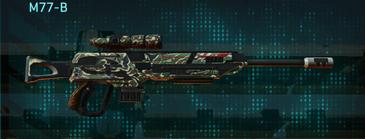 Scrub forest sniper rifle m77-b