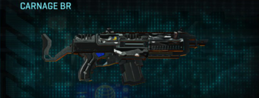 Indar dry brush assault rifle carnage br
