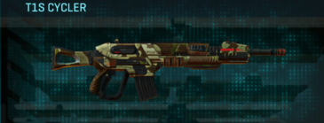 India scrub assault rifle t1s cycler