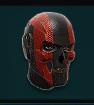 TR Inf Helm MilitantSkull