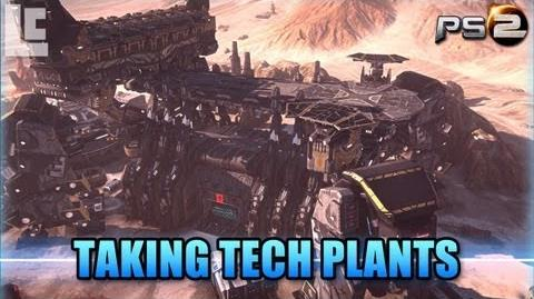 How To Capture Tech Plants (Planetside 2 Gameplay Commentary)
