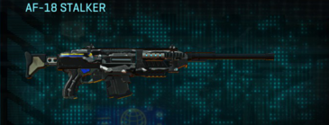 Indar dry brush scout rifle af-18 stalker