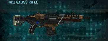 Indar rock assault rifle nc1 gauss rifle