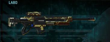 India scrub sniper rifle la80