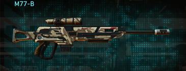 Indar scrub sniper rifle m77-b