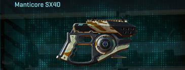 California scrub pistol manticore sx40