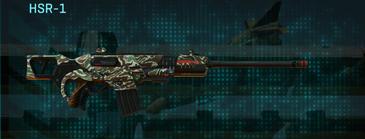 Scrub forest scout rifle hsr-1