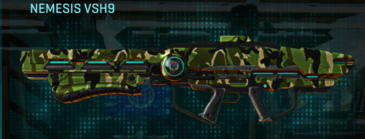Jungle forest rocket launcher nemesis vsh9