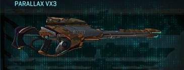 Indar rock sniper rifle parallax vx3