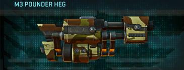 India scrub max m3 pounder heg