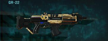 Sandy scrub assault rifle gr-22